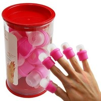 CyberStyle(TM) 10PC wearable nail art soakers Ongle acrylic removal