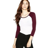 Bodycon Baseball Tee