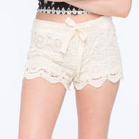 FULL TILT Crochet Womens Shorts | Gypset