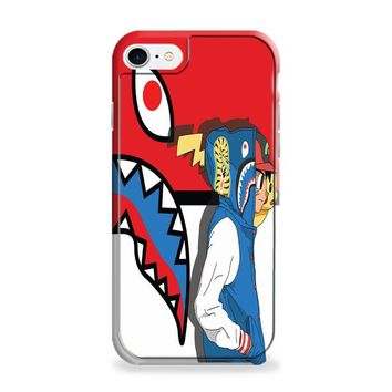 Pikachu Pokemon CAMO BAPE SUPREME iPhone 6 | iPhone 6S Case