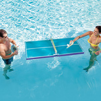 Floating Ping Pong Tables at Brookstone—Buy Now!