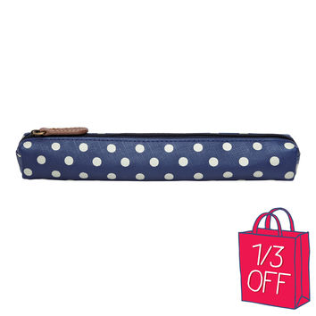 Top Prints | Little Spot Skinny Pencil Case | CathKidston