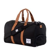 Black Novel Duffel Bag
