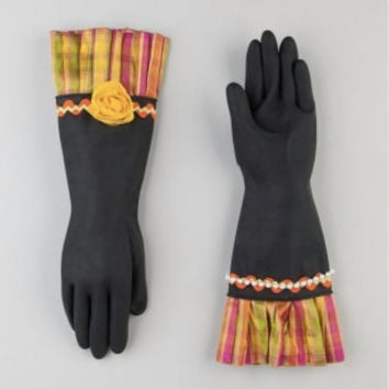 Glamorous indestructible ladies dish gloves. Free shipping.