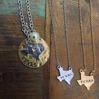 New! Texas Necklace