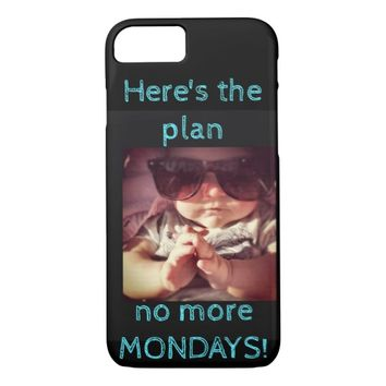 NO MORE MONDAY Apple Phone Cover
