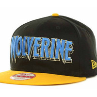 Marvel Hero Word Mark Official Snapback 9FIFTY Cap - Wolverine
