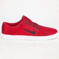 Nike Sb Portmore Renew Mens Shoes Red  In Sizes
