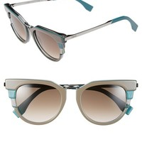 Women's Fendi 52mm Retro Sunglasses