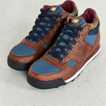 New Balance 710 Classic Leather Trail Sneaker- Brown