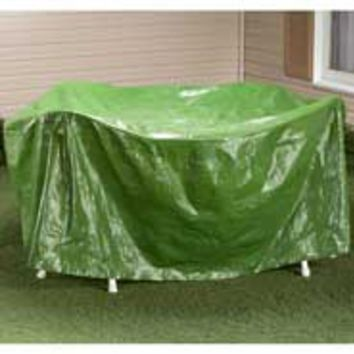 "RoundPatio Table Cover - 30""H x 84"" Dia."