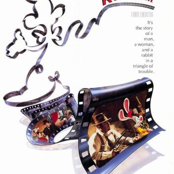 Who Framed Roger Rabbit 27x40 Movie Poster (1988)