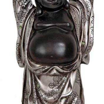 Oriental Furniture Standing Laughing Buddha Figurine