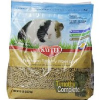 Kaytee Timothy Complete for Guinea Pigs, 5-Pound