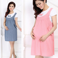 Maternity Dress Maternity 1 PCS Casual Dress
