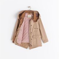 PARKA WITH DETACHABLE WAISTCOAT
