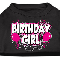 Mirage Pet Products Puppy Safety Dress Apparel Dog Clothing Accessory Birthday Girl Screen Print Shirts Black Large (14)