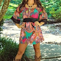 I Fall To Pieces Tunic Dress