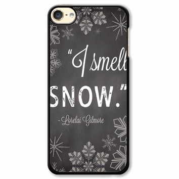 Gilmore Girls Quotes Snow iPod Touch 6 Case