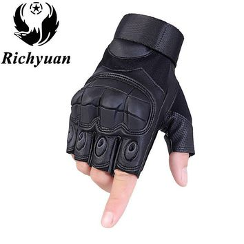 Touch Screen Tactical Gloves Military Armed Army Paintball Shooting Airsoft Combat Anti-Skid Rubber Knuckle Full Finger Gloves