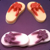 Flip-Flops Soap - Perfect for Wedding or Party Favors - 3 ounces