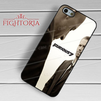 Fast and furious FF7 vin diesel and paul walker -EnLs for iPhone 6S case, iPhone 5s case, iPhone 6 case, iPhone 4S, Samsung S6 Edge