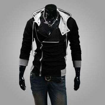 Hoodies Men Sweatshirt Male Tracksuit Hooded Jacket Casual Male Hooded Jackets moleton Assassins Creed M-6X