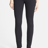 Women's AG 'The Prima' Cigarette Leg Skinny Jeans (Super Black)