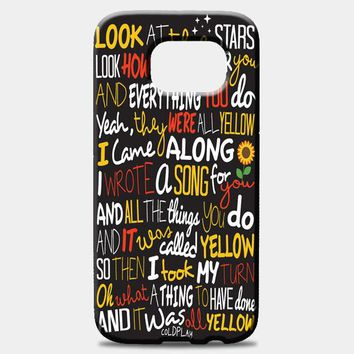 Coldplay Yellow Samsung Galaxy Note 8 Case