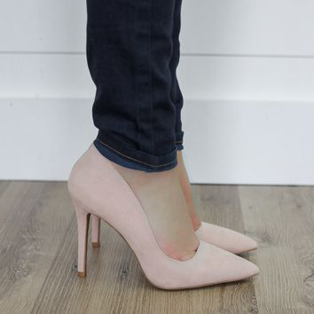 Sweetly Suede Pumps