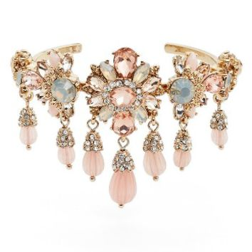 Marchesa Sheer Bliss Drama Cuff | Nordstrom