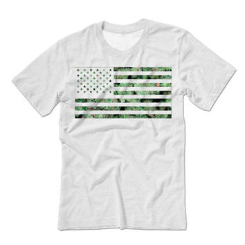 American Flag Shirt | Fourth of July Shirts | Fourth of July T Shirts | American Flag Tank Tops | Weed Flag Marijuana Leaf