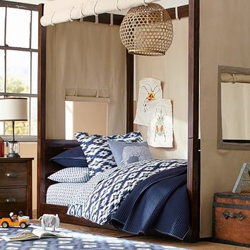 Sawyer Canopy Bed, Tuscan