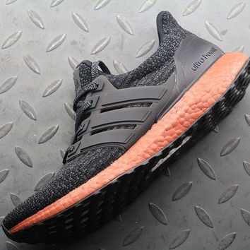 hcxx Adidas Ultra Boost UB 3 BA8922 Women Men Fashion Trending Running Sports Shoes Sneakers Orange