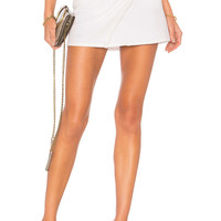 BB Dakota x REVOLVE Front Row Skirt in Optic White