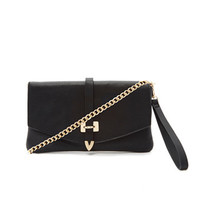 Convertible Faux Leather Crossbody