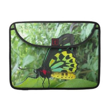 Cairns Birdwing Butterfly w/poem Sleeve For Macbooks from Zazzle.com