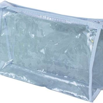 Clear Vinyl Zippered Pouch Case Pack 500