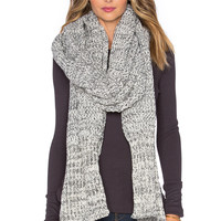 Brixton Dakota Scarf in Grey