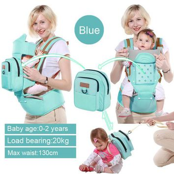 Toddler Backpack class Baby Carrier Multifunction  Sling Infant Hip Seat Newborn Kangaroo Hipseat With Diaper Bag AT_50_3