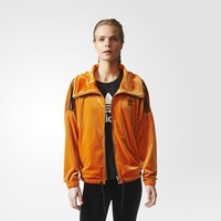 adidas Brklyn Heights Oversize Track Jacket - Orange | adidas US