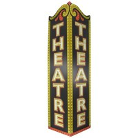 Theatre Triangle Embossed Tin Sign | Shop Hobby Lobby