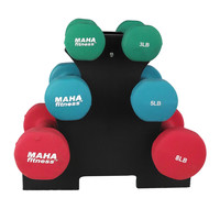ProFit Dumbbell Set With Stand - 32 Lb