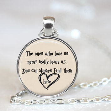 Harry Potter Jewelry, Harry Potter Pendant, Harry Potter Quote, Quote Jewelry, Harry Potter Always, Harry Potter Necklace, Loved Ones Quote