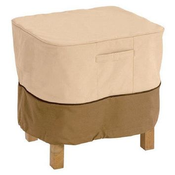 Armor Shield Patio Ottoman/Table Cover Fits Rectangular Ottoman/Table Upto 32''L x 22''W x 17''H