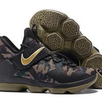 Nike Zoom LeBron James 14 New Color Camouflage Basketball Shoes