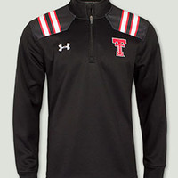 Texas Tech Under Armour® Throwback Black Quarter Zip Pullover