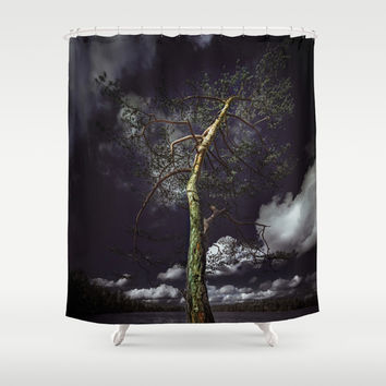 Reise, reise Shower Curtain by HappyMelvin