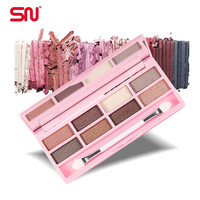 Nude makeup  8 color eyeshadow pallete colour pop  urban makeup palette eye shadow YP-5