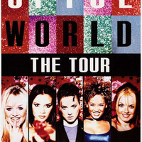 Spice Girls SpiceWorld Tour 1998 Poster 23x33